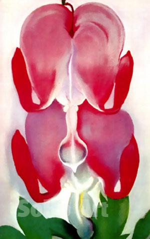 Georgia O'Keeffe Bleeding Heart 1932