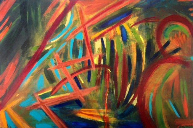 Letting Paint Dry 2012 http://dreajensengallery.artistwebsites.com/featured/letting-paint-dry-2012-drea-jensen.html