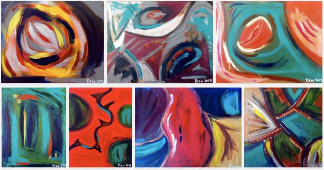 Paintings by Drea http://dreajensengallery.artistwebsites.com/index.html