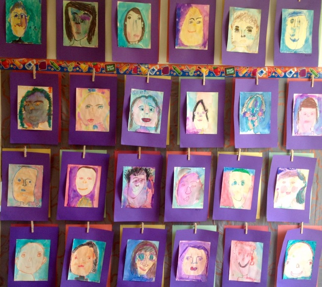 Self-Portraits by Students