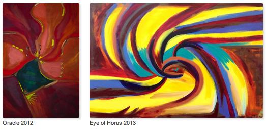 Paintings by Drea