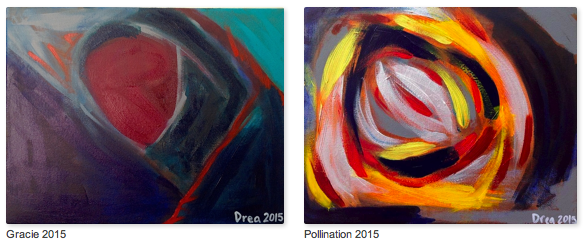 Paintings by Drea