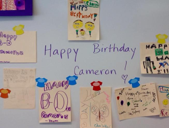 Happy Birthday Cam Sweet 16